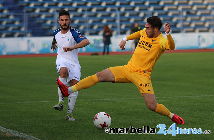 El Marbella FC cae en el tiempo añadido tras ser superior al UCAM (1 ...