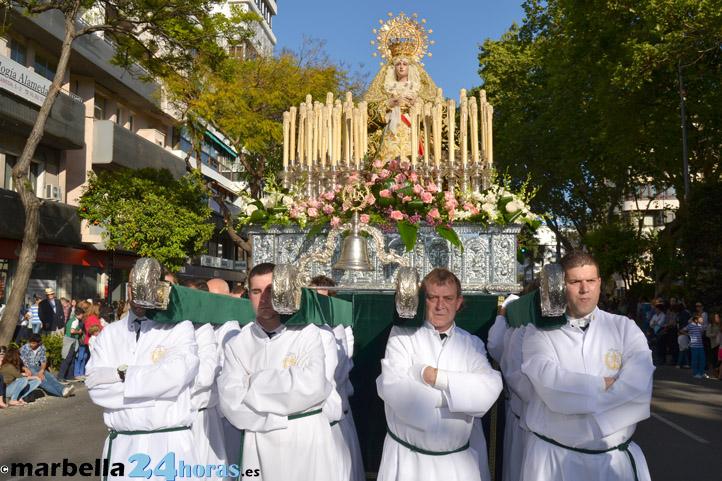 local Virgen hermoso en Marbella