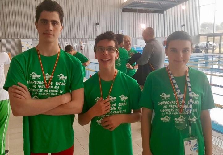 Tres nadadores del cn marbella participan en el campeonato for Piscina valdesanchuela