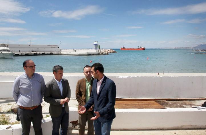 El dragado del puerto deportivo de marbella surtir de arena las playas local - Cines puerto deportivo getxo ...