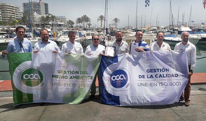 El puerto deportivo de marbella mantiene sus certificados de calidad local - Cines puerto deportivo getxo ...