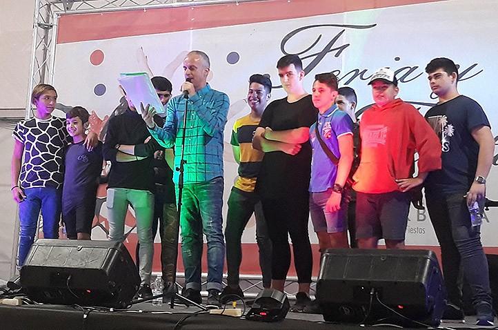 Alfredo Gómez pide más atención para El Ángel en el pregón de la Feria 2017
