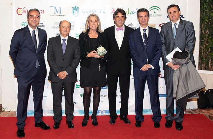 Cit marbella entrega sus premios a puya y a la obra social de la caixa local - Puya marbella ...
