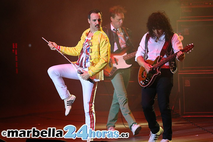 El espíritu de Freddie Mercury revive en Marbella con God Save The Queen