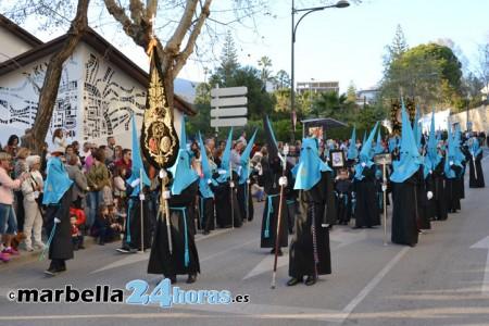 las obras en marbella no afectarn a las procesiones de semana santa